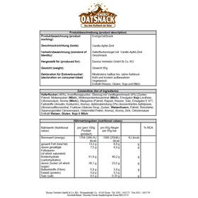 Energy OatSnack Bar 65g Vanilla-Apple-Cinnamon